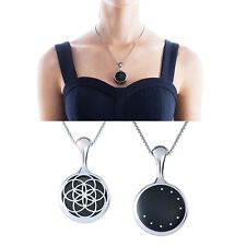 Necklace Stainless Steel Pendant Sleep Fitness Monitor For Misfit Shine Hoc