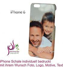 3D iPhone 6 / 6s Handy Schale Cover Case Hülle individuell bedruckt Wunsch Foto