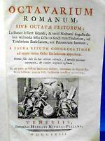 RARA SACRA RITUUM ROMANUM SACRA CONGREGATIONE  A PEZZANA VENETIIS 1772