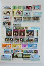 ANGUILLA MNH Collection of QEII Sets + Singles + Miniature Sheets