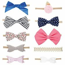 Baby Girl Headbands Bows Assorted 10 Pack of Hair Accessories for Girls newborn