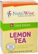 NUTRIWISE | Lemon Tea High Fiber Drink | Zero Sugar, Low Calorie, High Fiber