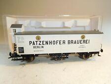 ++ B5266 H0 Fleischmann 5889 K Bierwagen Patzenhofer Brauerei Berlin KPEV NEU