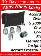 🔥 Genuine OEM Honda Acura Exposed Wheel Lock Set  (08W42-SNA-100) 🔥
