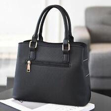 PU Leather Large Capacity Woman Handbag Grid Shoulder Bag Fashion Casual Luxury