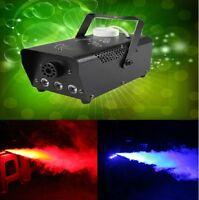 400Watt Smoke Fog Machine LED Lights DJ Party Stage Fogger Remote Control
