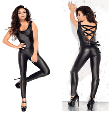 Top Totty Sexy Women Bandage Back Cat Suit