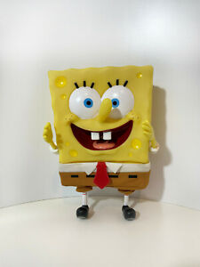 "SPONGEBOB SQUAREPANTS Squirting 7"" vinyl figure Mattel 2000 VGC Nickelodeon"