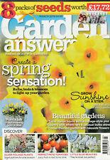 GARDEN ANSWERS Magazine March 2019 - Create A Spring Sensation!