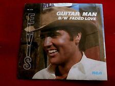 ELVIS PRESLEY~GUITAR MAN~FADED LOVE~RCA PB-12158~ POP 45