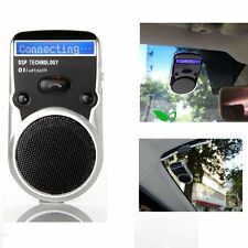 Solar Powered Bluetooth Car Kit LCD Display Hands Free Speaker with car charger