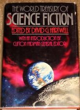 WORLD TREASURY OF SCIENCE FICTION DAVID HARTWELL HB/DJ STATED FIRST EDITION