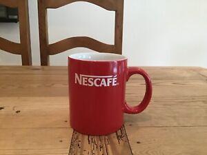 NESCAFE Vintage Red Coffee Cup / Mug Round  Shape