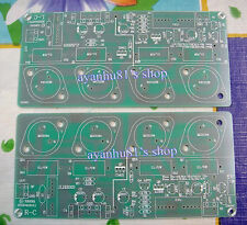 2 X JLH HOOD 1996 Class A Update Stereo Audio Power Amplifier PCB