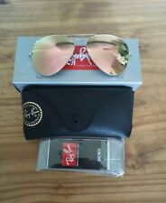 Ray-Ban Sunglasses Aviator 3025 019/Z2 Silver Pink Mirror Medium 58mm *REDUCED*