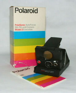 "Polaroid SX-70 Land Camera Polasonic Autofocus Model 2 "" mit Film getestet """