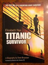 Titanic Survivor Dave Bryceson Salvation Army Shipping Interest 2009 Book