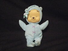 """BABY FISHER PRICE 12"""" BLUE POOH LIGHT UP MUSICAL DOLL PLUSH"""