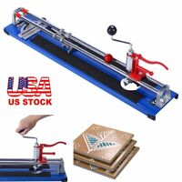 Portable 600MM Manual Tile Cutter Ceramic Porcelain Floor Wall Cutting Machine