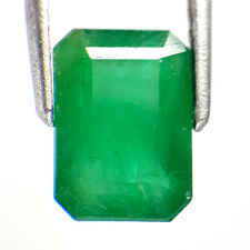 2.82 Ctw UnBelievable Clean Green Luster Colombian Gem  Natural Emerald