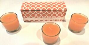 ~3~ GOLD CANYON CANDLE 1.7 OZ VOLIGHT VOTIVES SMALL SCENTS RARE ~FREE SHIPPING~