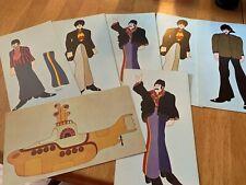 The Beatles 1968 King Features Suba Yellow Submarine Post Cards original lot