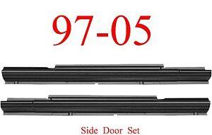 97 05 Chevy Venture Sliding Door Rocker Set Panel, Montana Silhouette Both Sides