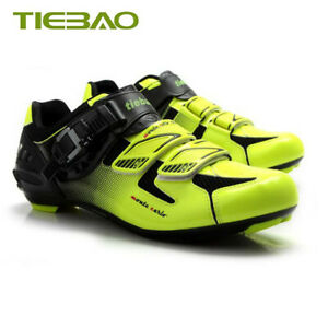 Tiebao Road Cycling Bicycle Shoes for Shimano SPD-SL Self-locking Bike sneakers