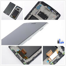 Für LG G4 H818 H818P Dual Sim Display LCD Touchscreen Digitizer Rahmen Schwarz