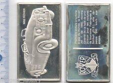lingot d argent les voitures du Monde ( 1950 Rover - 033 )