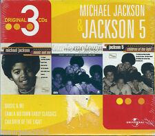 Michael Jackson & Jackson 5. Original 3 CDs (2003) Cofanetto 3 CD NUOVO SIGILLAT