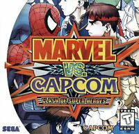 Marvel VS. Capcom Sega Dreamcast Game Used