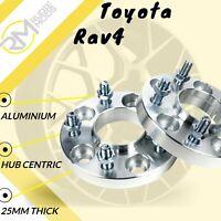 Toyota Rav4 5x114.3 60.1 25mm Hubcentric wheel spacers 1 Pair uk made