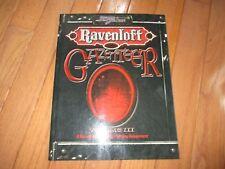 D&D D20 Ravenloft Gazetteer Volume III