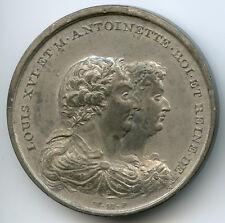 Louis XVI Médaille par Mainwaring La dernière entrevue du roi avec sa famille