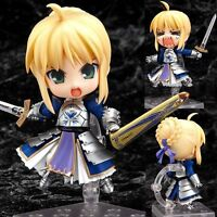 Nendoroid Fate/stay Night Anime Saber Super Movable Mini Action Figure Toy Doll
