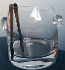 Macallan Whisky Glass Ice Bucket in original box