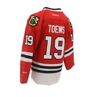 Chicago Blackhawks NHL Reebok Kids Youth Size Jonathan Toews Replica Jersey New