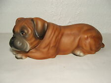 LATEX MOULD MOULDS MOLD.        CUTE LYING BOXER DOG
