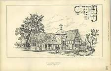 1883, A Village Library Designed By Eb Lamb, Architect