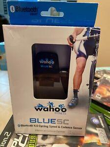 Wahoo Fitness - Blue SC BLUETOOTH 4.0 Cycling Speed & Cadence Sensor  New In Box