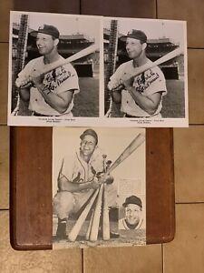 23 Stan Musial Signed Baseball Photos 100% PSA Pass Autograph Amazing Dealer Lot