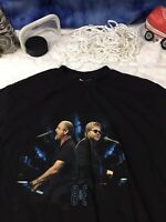 BILLY JOEL ELTON JOHN B&E 2003 Face 2 Face Tour Shirt large c18