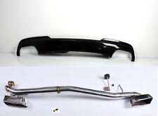 Für Bmw F10 F11 Vorfacelift 550i Look Endrohrblende Nachrüstsatz Auspuffblende b