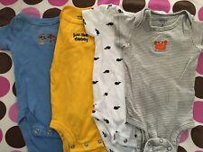 0-3 Months Boys Clothing. Pre-owned Short Sleeve Onesies (11)