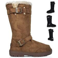 Unbranded Buckle Mid-Calf Boots for Women