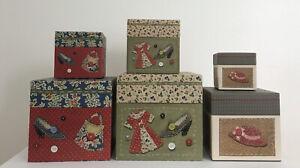 Lang Bob's 6 Boxes Stacking Nesting