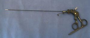 Storz MANHES Handle, 30210KJ Tube w/ Reddick-Olsen Pediatric Grasper 2mm x 30cm