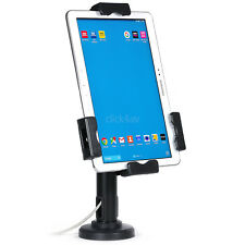 Lockable iPad Tablet Desk Mount Stand Secure Counter Holder or Wall Case PAD2102