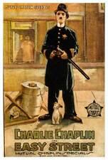 EASY STREET Movie POSTER 27x40 Charlie Chaplin